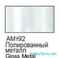 Gloss metal. Matt acrylic paint 16 ml