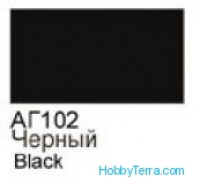 Black. Gloss acrylic paint 16 ml