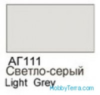 Light grey. Gloss acrylic paint 16 ml