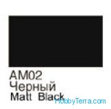 Black. Matt acrylic paint 16 ml