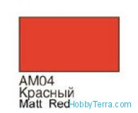 Homa  004 Red. Matt acrylic paint 16 ml