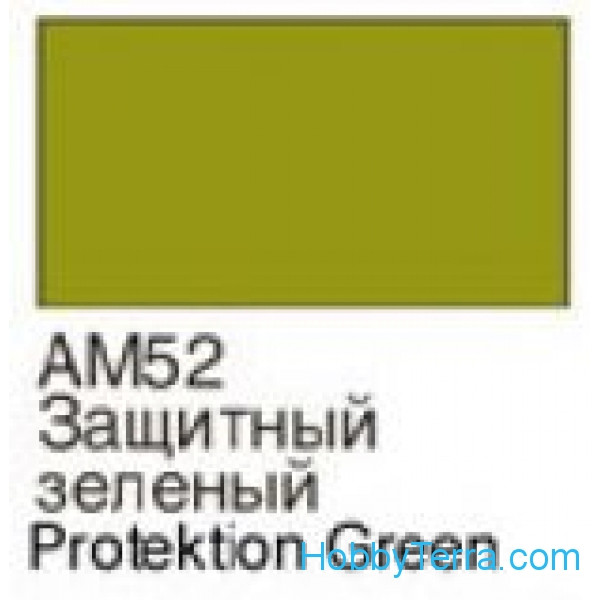 Green protective. Matt acrylic paint 16 ml