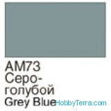Homa  073 Grey blue. Matt acrylic paint 16 ml