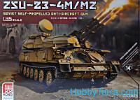 ZSU-23-4M/MZ Soviet self-propelled anti-aircraft gun