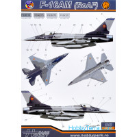 Decal 1/48 F-16AM/BM (RoAF)