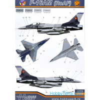 Decal 1/72 F-16AM/BM (RoAF)