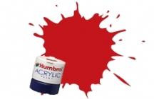Humbrol  RED 12ml GLOSS Acrylic Tinlet