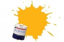 Humbrol  154 INSIGNIA YELLOW 12ml MATT Acrylic Tinlet