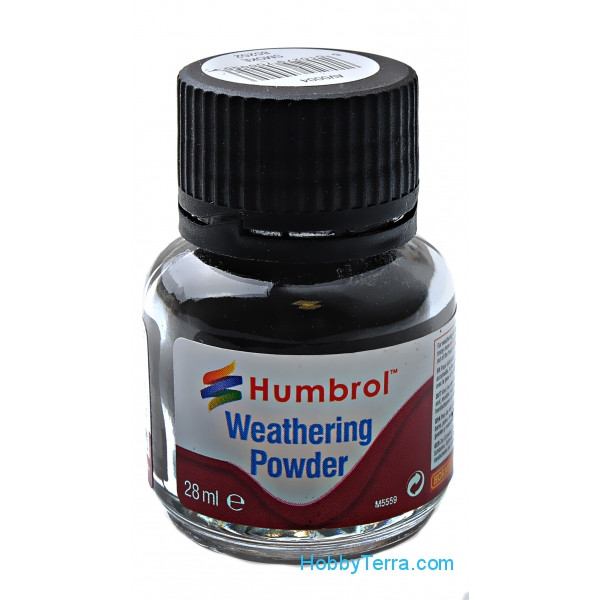 "Weathering powder ""Humbrol"" smoky, 28ml"