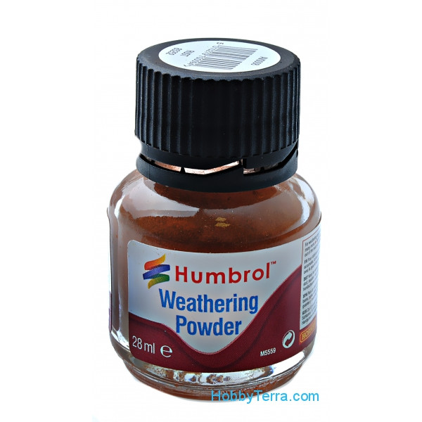 "Weathering powder ""Humbrol"" rust, 28ml"