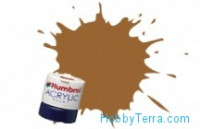 No.012 Cooper 14ml. Metallic acrylic paint