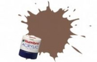 186 BROWN 12ml MATT Acrylic Tinlet
