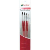 Evoco Paint Brushes Sizes 0,2,4,6