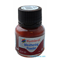 "Weathering powder ""Humbrol"" iron oxide, 28ml"