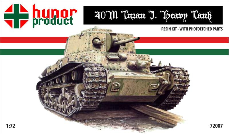 40M Turan I heavy tank (resin kit + pe)