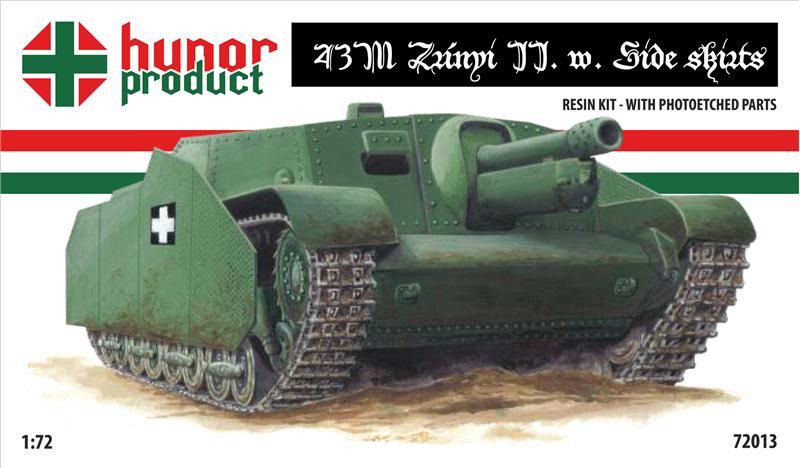 43M Zrinyi II with side skirts (resin kit + pe)