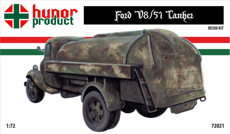 Ford V8/51 fuel tanker (resin kit)