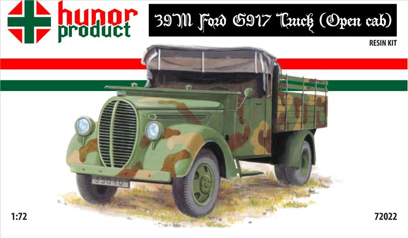 39M Ford 5917 truck with open cab (resin kit)