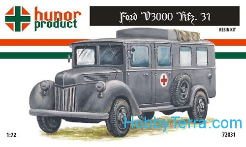 Ford V3000 Kfz.1 (resin kit)
