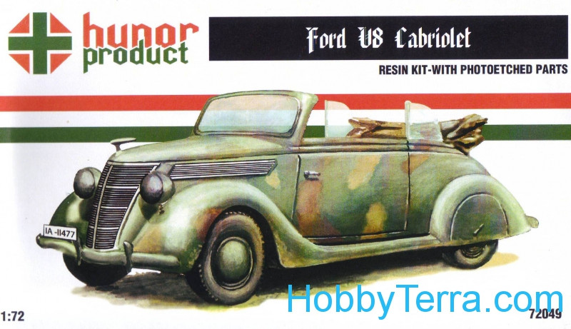 Ford V8 Cabriolet. Resin kit
