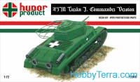 43M Turan I commander's tank (resin kit + pe)