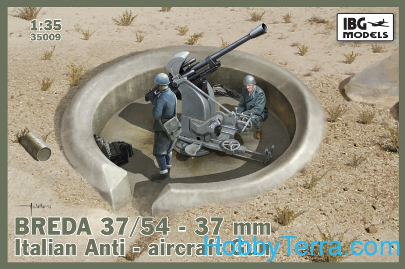 Breda 37/54 anti-aircraft gun