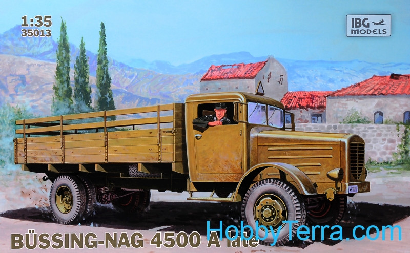 IBG Models  35013 BUSSING-NAG 4500A late