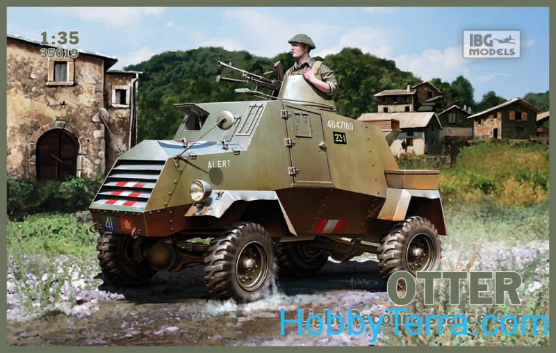 Otter light reconnaissance vehicle