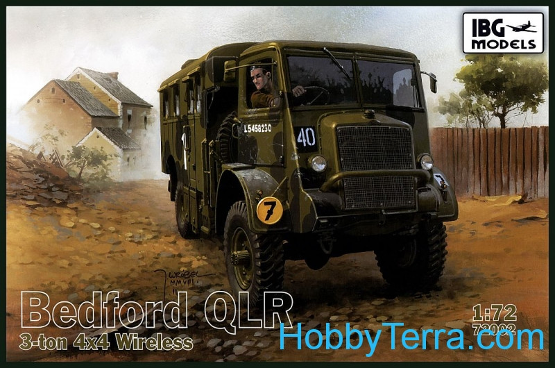 IBG Models  72002 Bedford QLR 3-ton 4x4 wireless