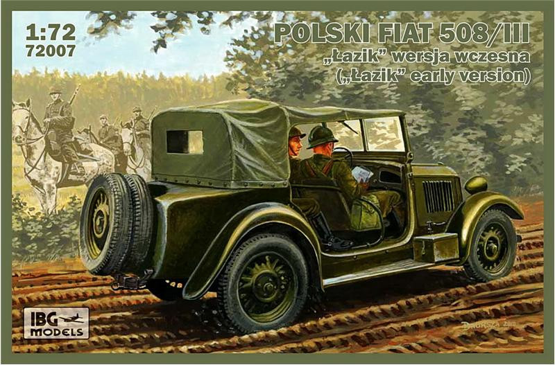 Polish Fiat 508/III ('Lazik' early version)
