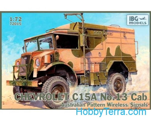 Chevrolet C15A No.13 Cab Australian Pattern Wireless / Signals