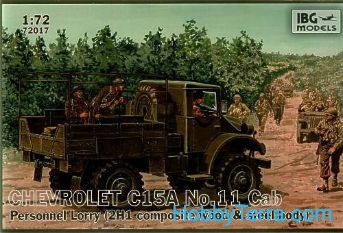 "Chevrolet C15A No.11 ""Cab Personnel Lorry"""