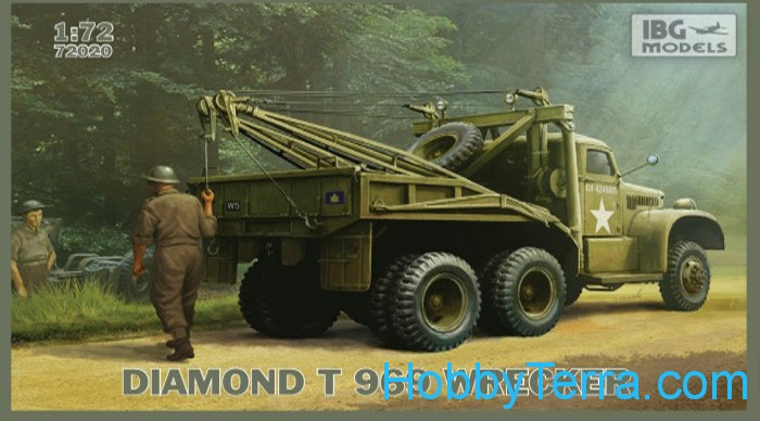 IBG Models  72020 Diamond T 969 Wrecker