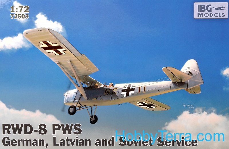 RWD-8 PWS German, Latvian and Soviet service