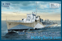"ORP ""Kujawiak"" 1942 Hunt II class destroyer escort"