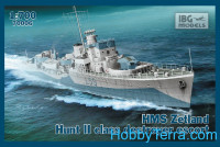 HMS Zetland 1942 Hunt II class destroyer escort