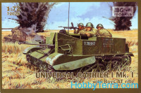Universal Carrier with Boys AT gun