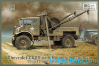 Chevrolet C60S with Holmes breakdown