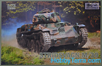 Swedish light tank Stridsvagn M/39