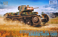 Swedish light tank Stridsvagn M/40K