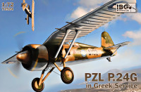 Fighter PZL P.24G (Greek Air Force)