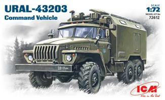 ICM  72612 Ural-4320 Soviet Army command truck
