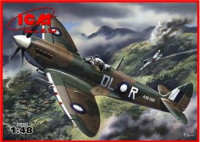 Spitfire Mk.VIII WWII British fighter