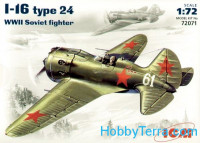 Polikarpov I-16 type 24 WWII Soviet fighter