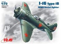 Polikarpov I-16 type 28 WWII Soviet fighter