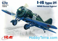 Polikarpov I-16 type 18 WWII Soviet fighter