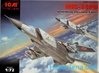Mig-25 PD Soviet heavy fighter-interceptor
