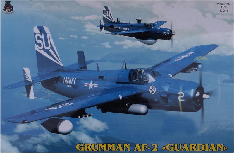 USAF Anti-submarine aircraft Grumman AF-2 Guardian in 1/72 ...