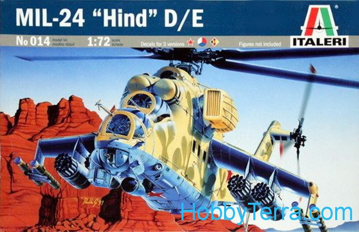 Mi-24 Hind D/E helicopter