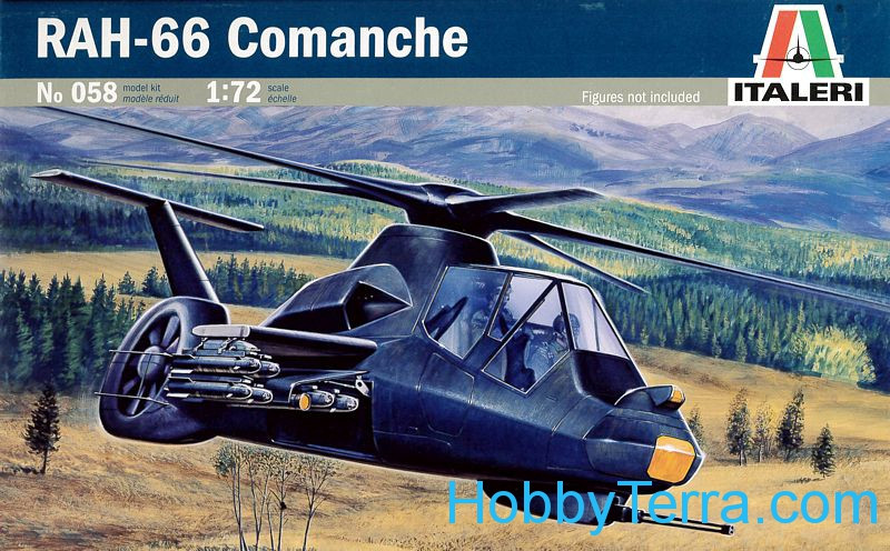 Helicopter RAH-66 Comanche